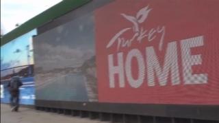 Kopenhag'da Türkiye dev billboardlarla tanıtılıyor